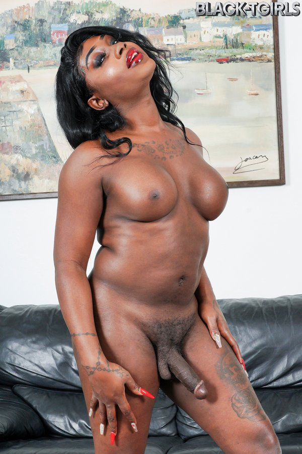 Sexy Ebony Babe Rose